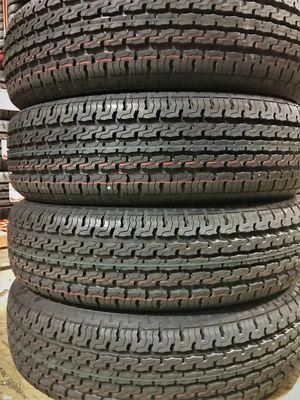 """NEW 13"""" + 14"""" + 15"""" TRAILER TIRES ON SALE.. FRESNO + MADERA LOCATIONS TO SERVE YOU... for Sale in Fresno, CA"""