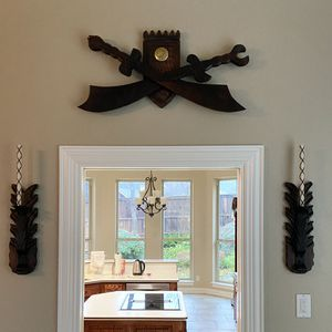 Wall Decor Wooden Swords, Candle Holders & Candles for Sale in Fort Worth, TX