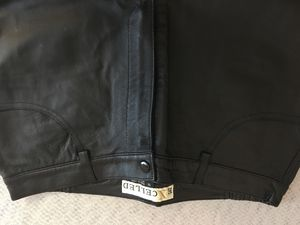 Leather pants size 12 for Sale in Richland, MO