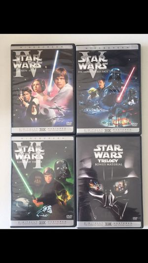 Star Wars Trilogy DVD for Sale in Chula Vista, CA