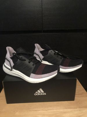 Adidas UltraBOOST 19 Black Purple Red G27489 Running Shoes Women's Size 11 NEW for Sale in Lutz, FL