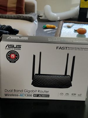 Asus dual band gigabit router for Sale in West Somerville, MA