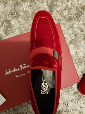 Salvatore Ferragamo shoes 👞 😍 👌 reds for Sale in Federal Way, WA