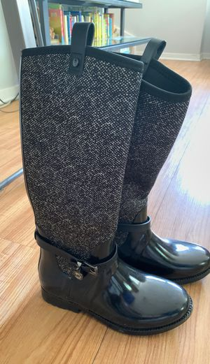 Michael Kors rain boots size 7 for Sale in Chicago, IL