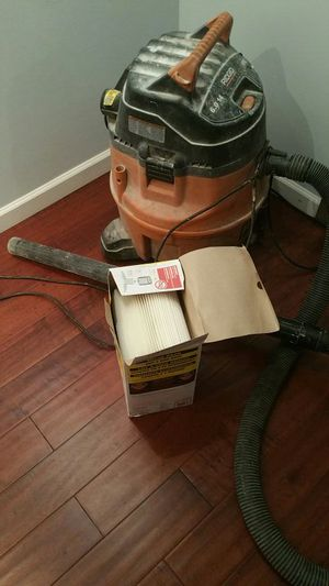 Shop Vac and two new filters 45 for Sale in Baltimore, MD