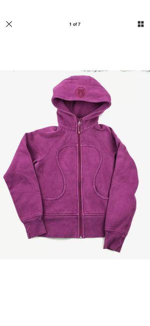Lululemon Scuba pink Hoodie Sz 4 for Sale in Hilliard, OH
