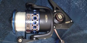 Penn battle 2 rod and reel used a few times for Sale in S CHESTERFLD, VA