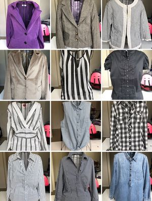 12 pieces Business casual women clothes fit to Large for Sale in Oceanside, CA