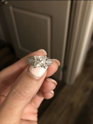 Wedding engagement princess cut ring for Sale in St. Petersburg, FL