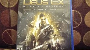 Deus Ex Mankind Divided for Sale in US