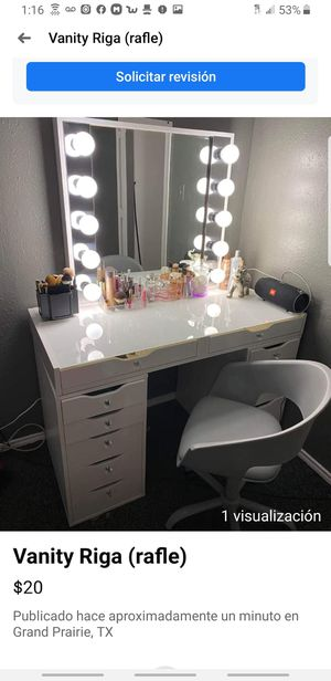 Raffle vanity. 20$ ticket for Sale in Arlington, TX