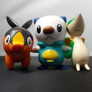 Nintendo Pokemon Unova Starter Pokemon Collectible Figures for Sale in South Attleboro, MA