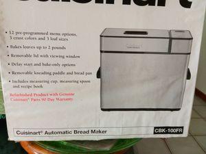 New Cuisinart Bread Maker for Sale in San Jose, CA