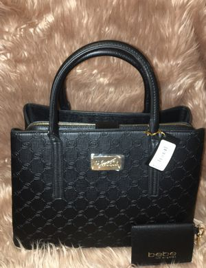 Brand new BEBE hand bag with matching coin purse /wallet for Sale in Fresno, CA