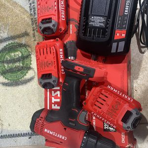 Craftsman V20 Cordless Drill With Extra Batteries for Sale in Brooklyn, NY