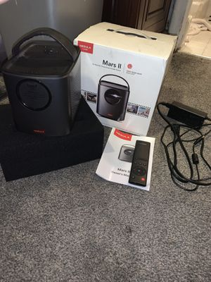 Nebula Mars 2 projector and Bluetooth speaker for Sale in Salt Lake City, UT