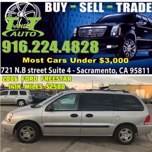 2006 Ford Freestar for Sale in Sacremento, CA