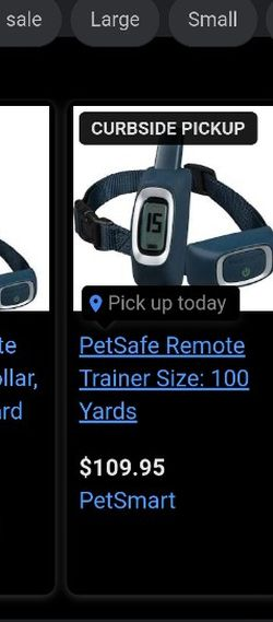 Pet safe Dog Collar 100 Yard for Sale in Shelby,  NC