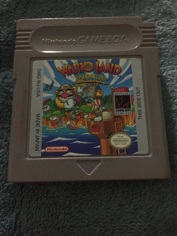 Gameboy Wario Land Super Mario Land 3