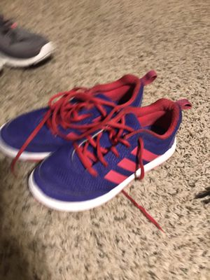 Adidas girl shoes for Sale in San Antonio, TX