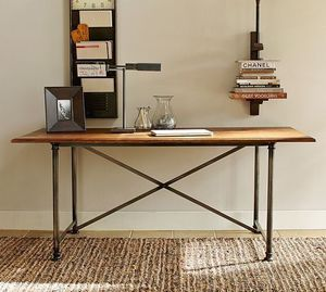"""Beautiful desk / Work Table - reclaimed wood - large 60""""x30"""" for Sale in Los Angeles, CA"""