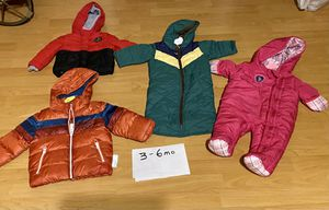 Baby and toddler ( up to size 2T ) snow clothes. Jackets pants and bibs and snow suits. Many brand names for Sale in Redondo Beach, CA