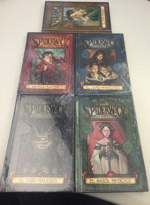Libros en castellano las crónicas de Spiderwick edición for Sale in Silver Spring, MD