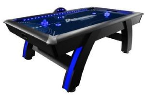Atomic 7.5' Indiglo LED Light Up Arcade Air-Powered Hockey Table for Sale in Houston, TX