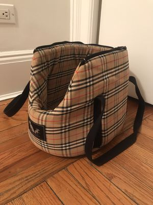 Authentic Burberry Dog Carrier for Sale in New York, NY