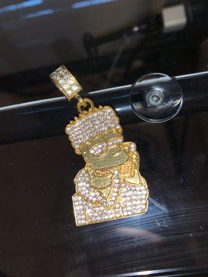 Bart Simpson trap pendant for Sale in Duvall, WA