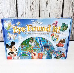 Disney Eye Found It Board Game, 100% for Sale in Roseville, CA