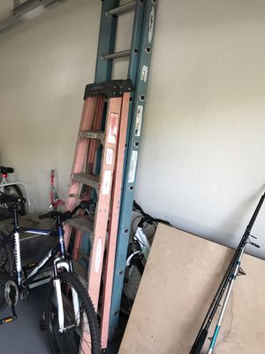 Ladders, 6' and 16' set for Sale in Fort Lauderdale, FL