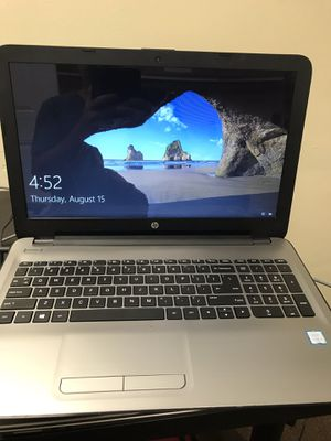 """Hp-Notebook i3-6100 8gb ram 512gb SSD 14"""" Touch Screen Fresh install Win 10 Home for Sale in Tampa, FL"""