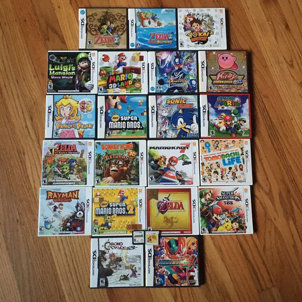 3DS / DS: Zelda, Mario, Sonic, Kirby, Megaman Games For