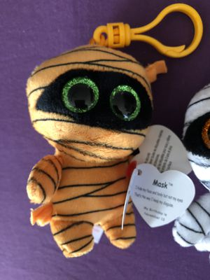 """TY Beanie Babies Boos Halloween Clip 3"""" for Sale in Henderson, NV"""