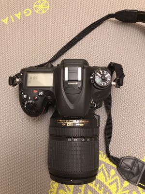 Nikon Black D7100 Digital HD SLR Camera with 24.1 Megapixels and 18-140mm Lens Included for Sale in Fairfax, VA