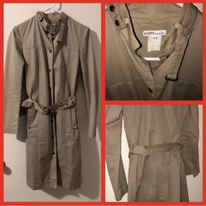 Michael Kors Size 4 Raincoat Trench for Sale in Pittsburgh, PA