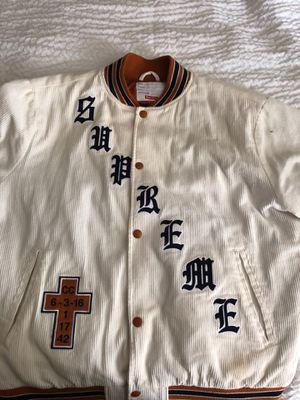 Supreme varsity jacket for Sale in San Francisco, CA