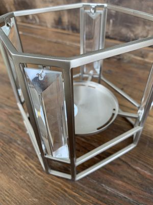 Metal candle holder-fits Bath & Body Works 3 wick candles for Sale in Wenatchee, WA