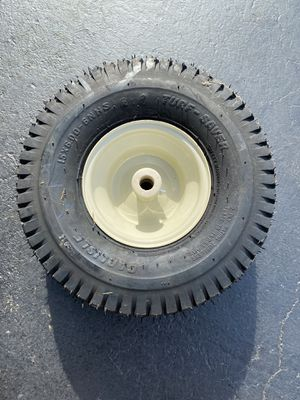 Lawn Tractor rim and tire for Sale in North Haven, CT