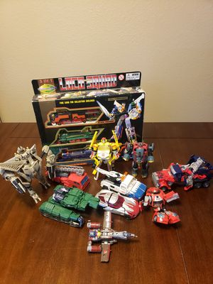 Transformers action figures toy lot for Sale in Peoria, AZ