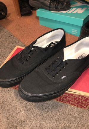 Size 13 US Men's Black on Black vans for Sale in Somerton, AZ