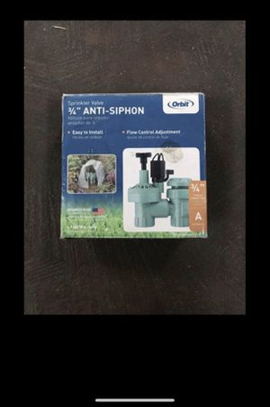 """Orbit 57623 sprinkler system 3/4"""" automatic anti-Siphon for Sale in Tacoma, WA"""