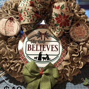 Christmas Wreath for Sale in Riverside, CA