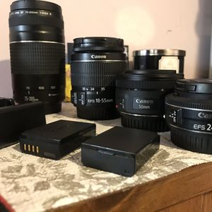 Canon Lens Bundle for Sale in Newburgh Heights, OH