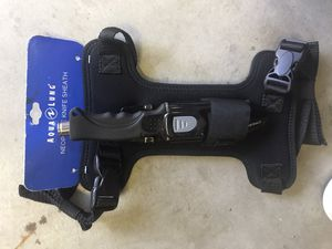 Freedive fishing tool with sheath and neoprene harness. Brand new for Sale in Fullerton, CA