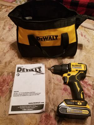 Dewalt brushless drill 20v for Sale in Mansfield, TX