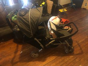 Double stroller good condition for Sale in Buffalo, NY