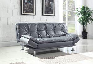 Sleeper futon sofa grey 79x44 for Sale in North Miami Beach, FL