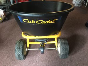 Cub Cadet Tow-Behind Spreader for Sale in Lebanon, TN